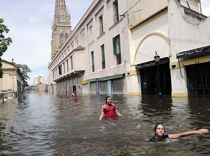 Inundaciones y Cambio Climático- Sorpresa?