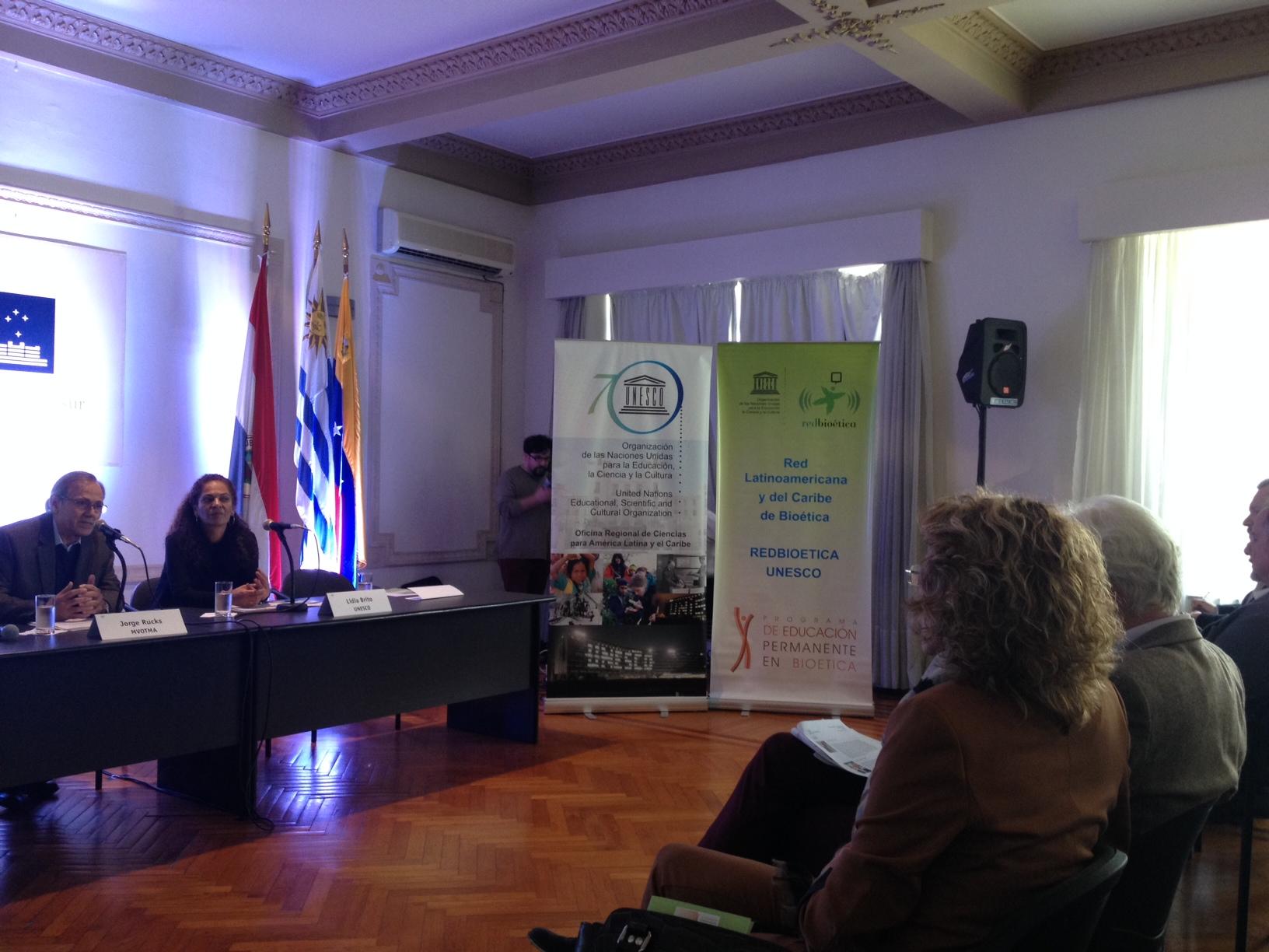 GENESIS participó de la celebración del 70 Aniversario de la UNESCO