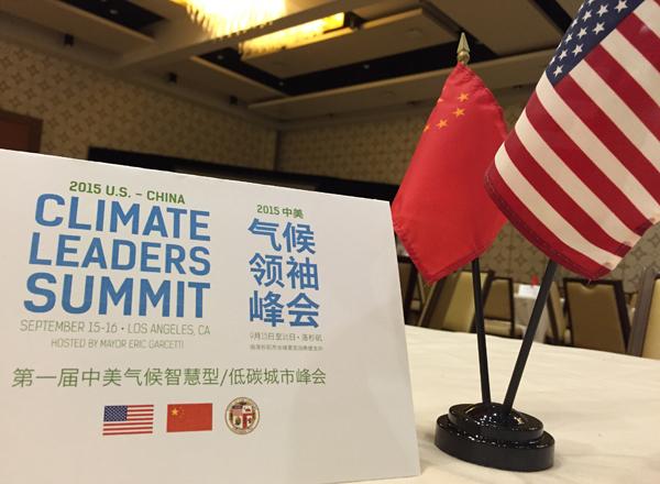 La Reunión sobre Cambio Climático entre USA y CHINA