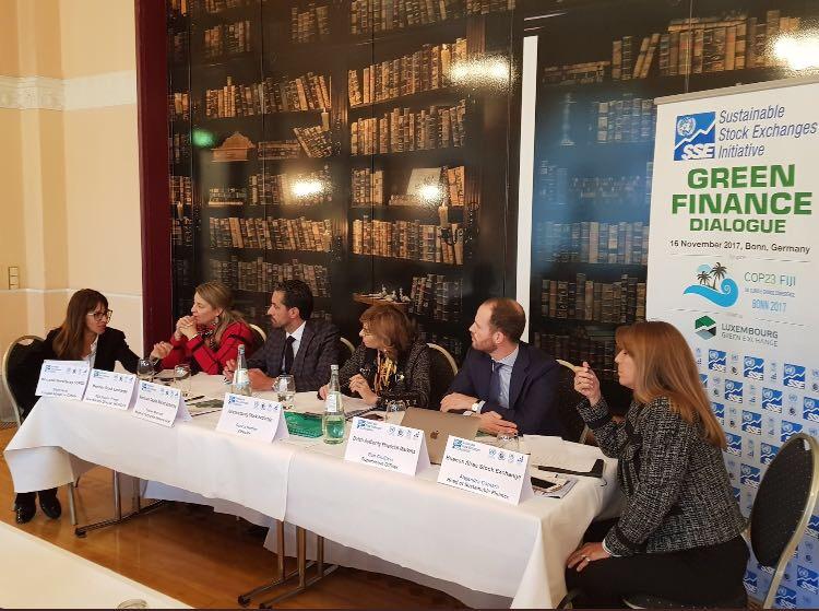 COP23: Alejandra Cámara invitada como panelista en evento de la Sustainable Stock Exchange (SSE)