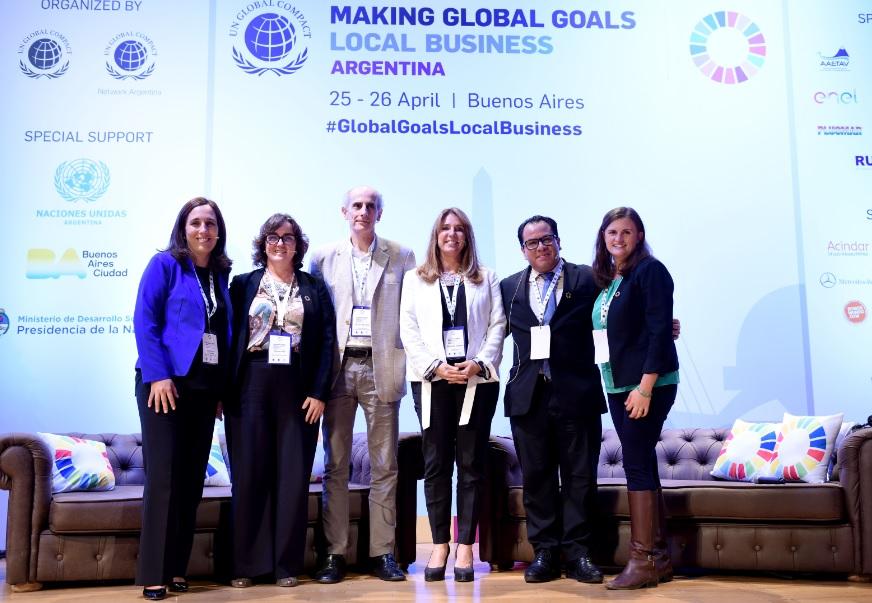 UN Global Compact organizó un evento sobre los ODS (Objetivos de desarrollo sostenible) en Buenos Aires