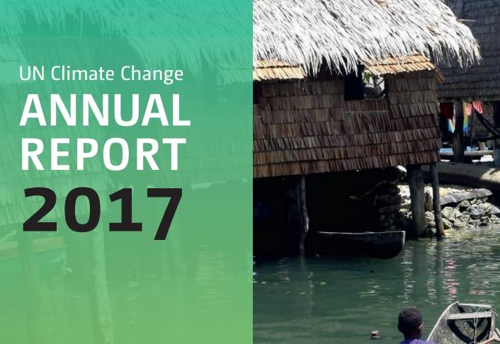 La Convención de Cambio Climático de Naciones Unidas presentó su primer reporte anual