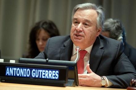 El Sec. Gral de la ONU hace un fuerte llamamiento a la inversión sostenible