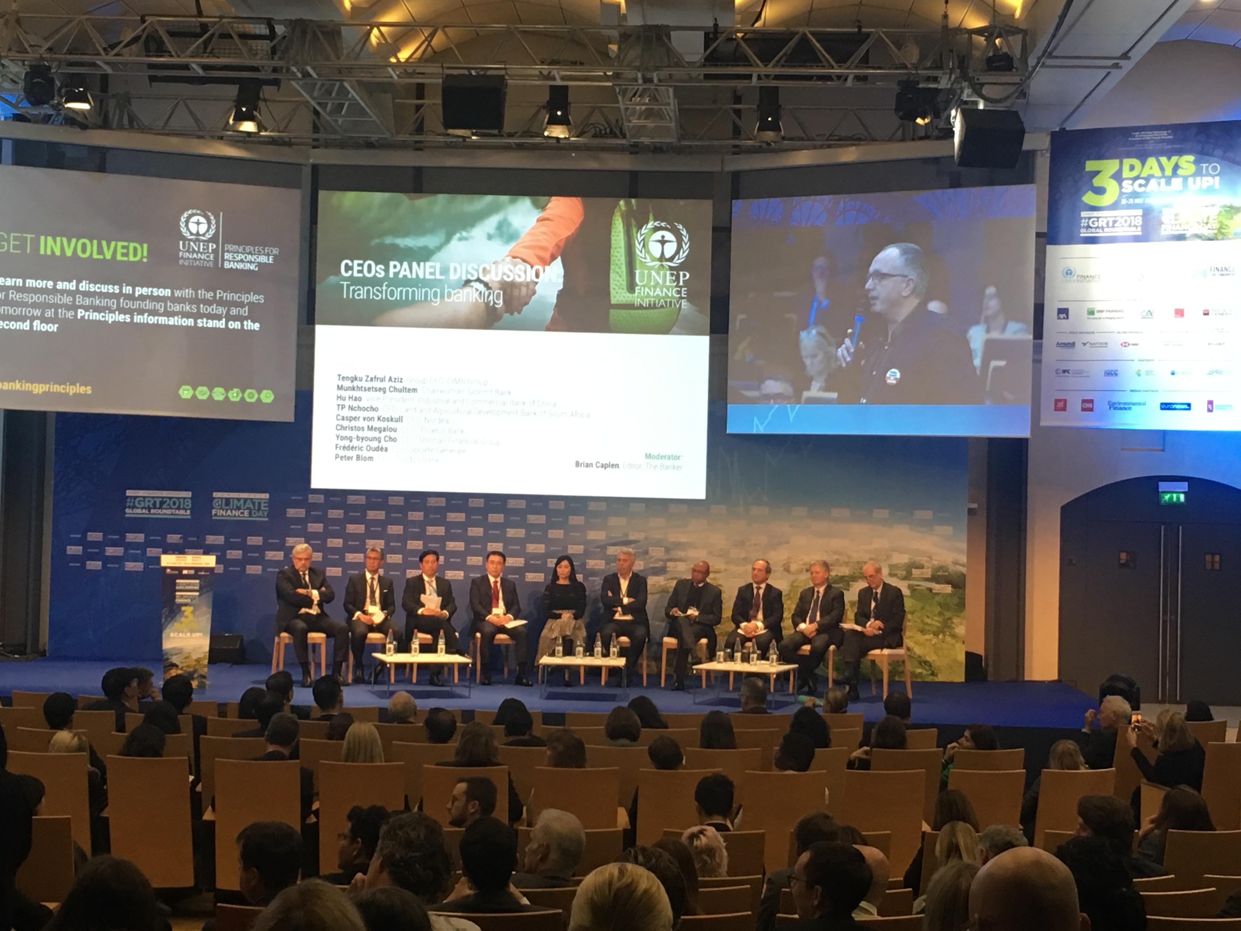 Genesis presente en el evento internacional más importante de Financiamiento Sostenible