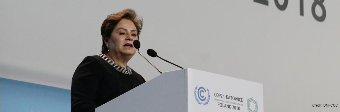 UN Climate Chief Urges Action on Climate Emergency