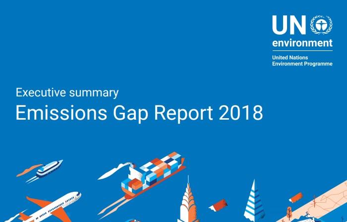 El Reporte de Emisiones 2018:  Todavía es posible mantener el calentamiento global por debajo de los 2°C