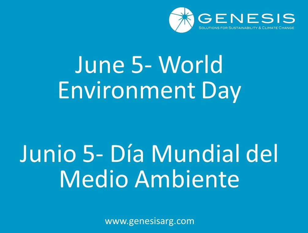 Dia Mundial del Medio Ambiente – 5 de Junio