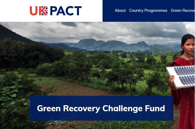GENESIS pre seleccionada por el Green Recovery Challenge Fund