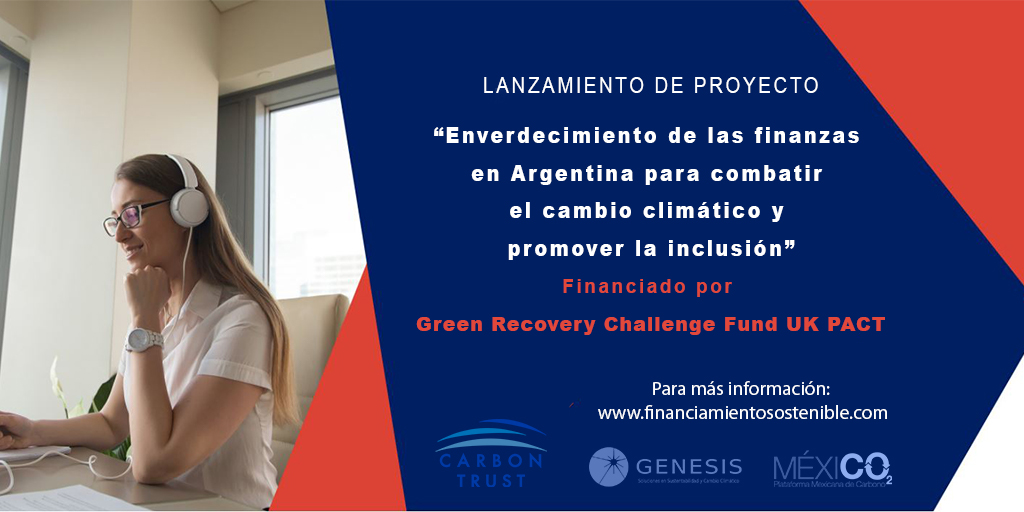 """Launch of the Platform """"Greening finances in Argentina to combat climate change and promote inclusion"""""""